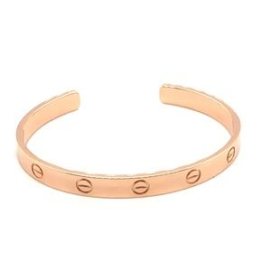 Cartier 18k Rose gold bracelet cuff